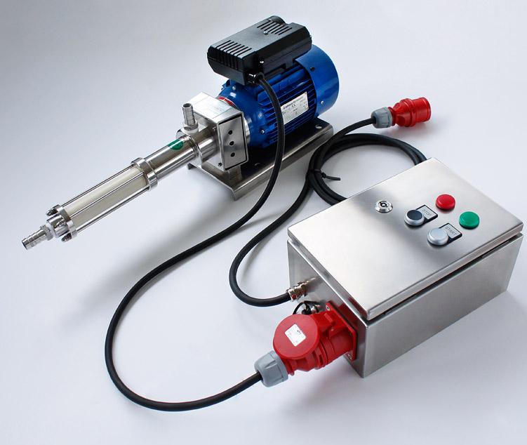 Trockenlauf Schutz Excenter Pump 1