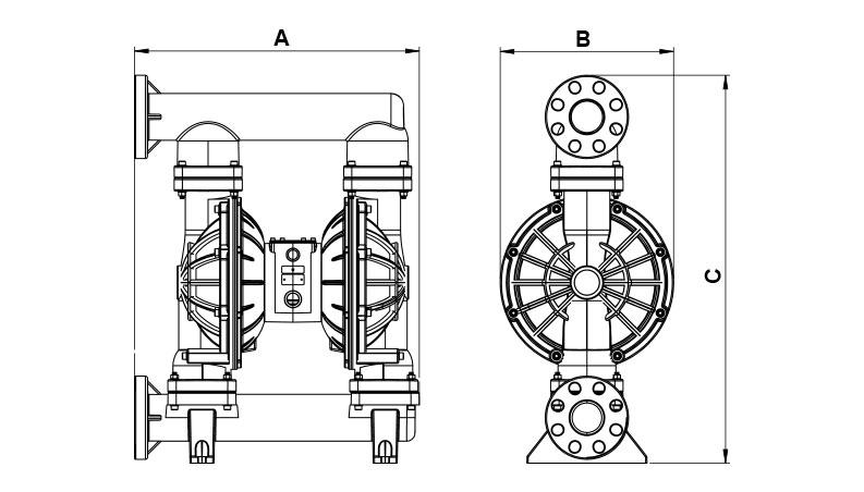 Dimensions Jp 810 1000